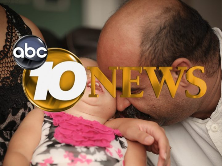 ABC 10 News Highlights the Achievement of Sadie Higuera Turning Three and Starting School