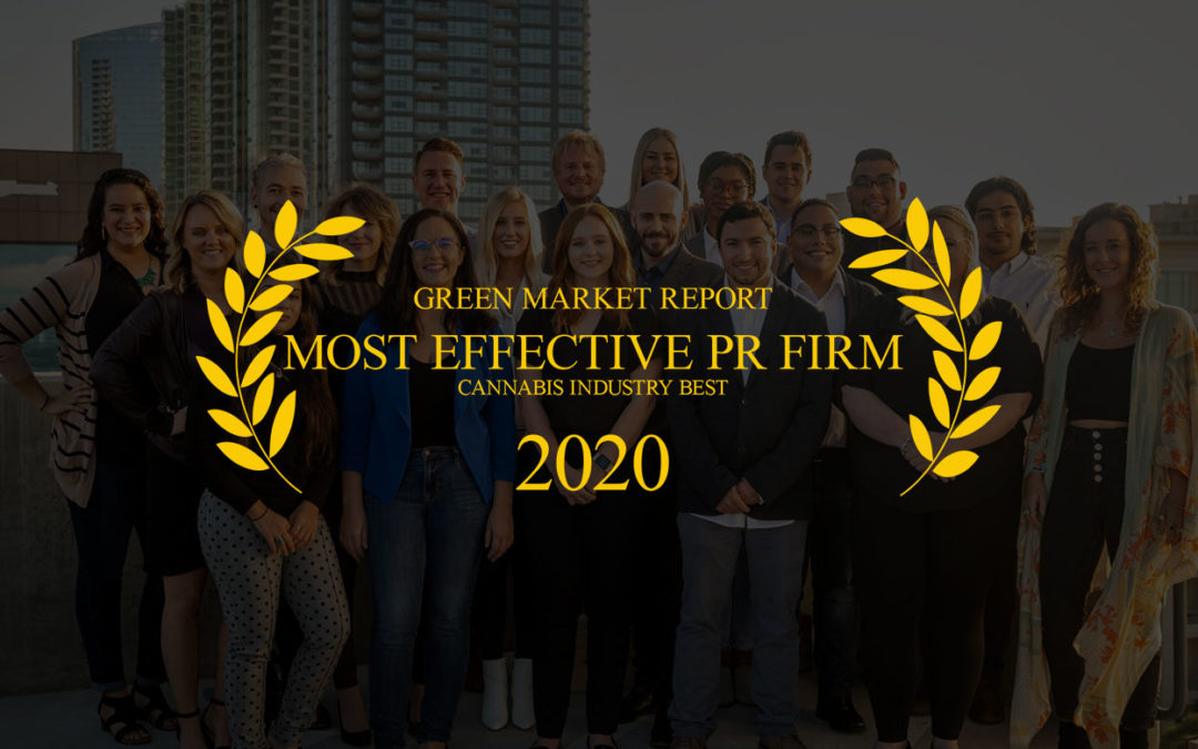 CMW Media Named in Green Market Report 2020 Top 11 Most Effective Cannabis PR Firms